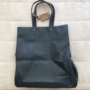 Hunter Navy Tall Original Tote